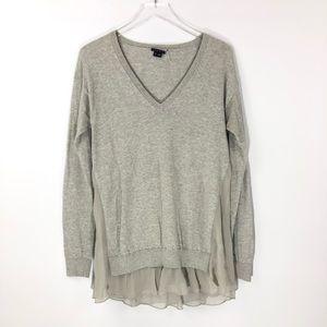 Theory • Layered Cashmere Blend Sweater